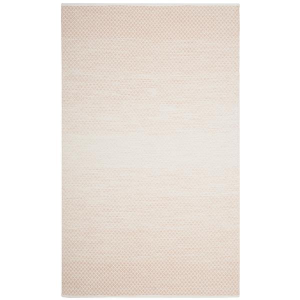 Safavieh Montauk Ombre Rug - 4' x 6' - Cotton - Beige/Ivory
