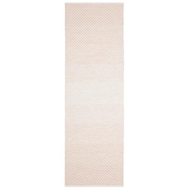 Safavieh Montauk Ombre Rug - 2.3' x 7' - Cotton - Beige/Ivory