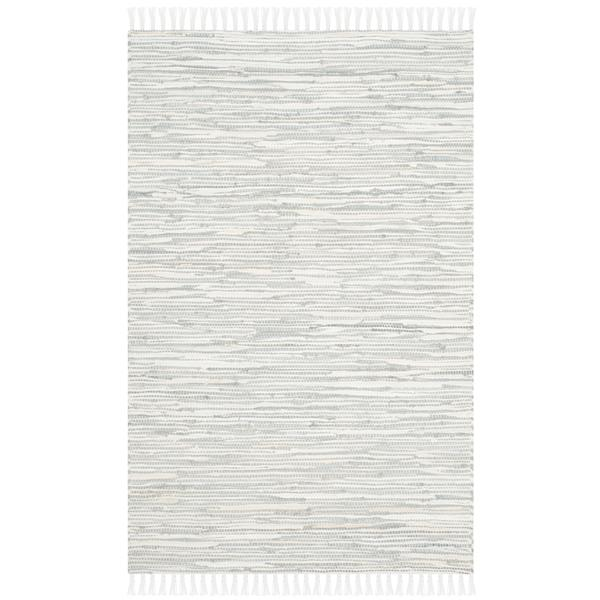 Safavieh Montauk Abstract Rug - 2.5' x 4' - Cotton - Silver