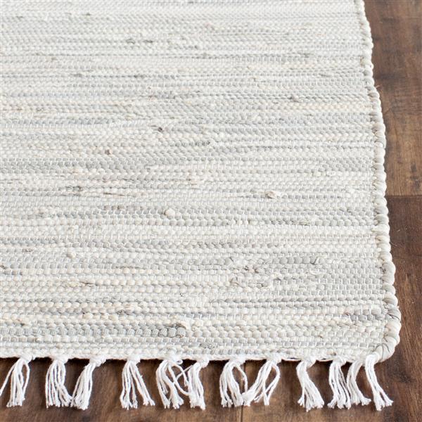 Safavieh Montauk Abstract Rug - 3' x 5' - Cotton - Silver
