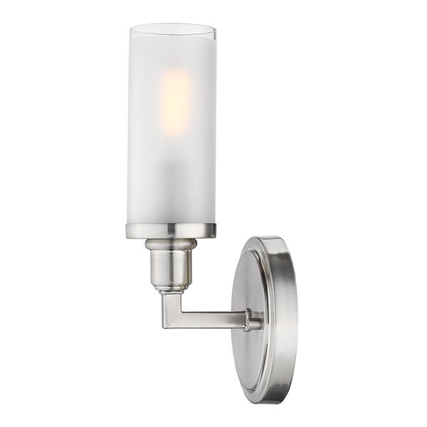Golden Lighting Ellyn 1-Light Vanity Light - Pewter
