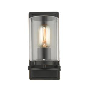Monroe 1-Light Wall Sconce Light - Black/Gold