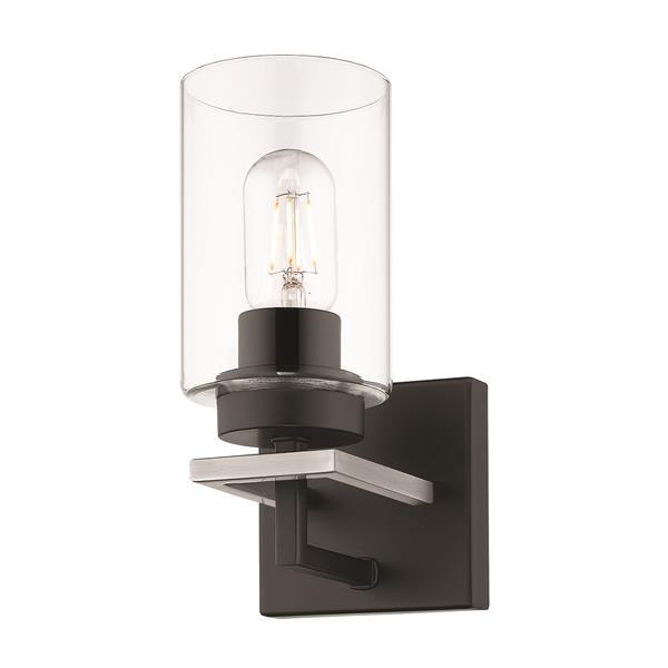 Golden Lighting Tribeca 1-Light Bathroom Vanity Light - Black