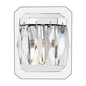 Golden Lighting Krysta 1-Light LED Vanity Light - Chrome