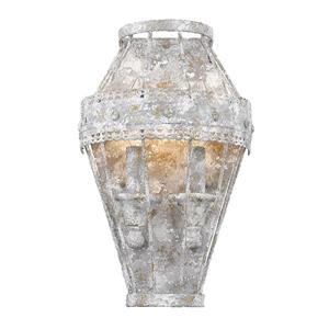 Ferris 1 Light Wall Sconce in Oyster