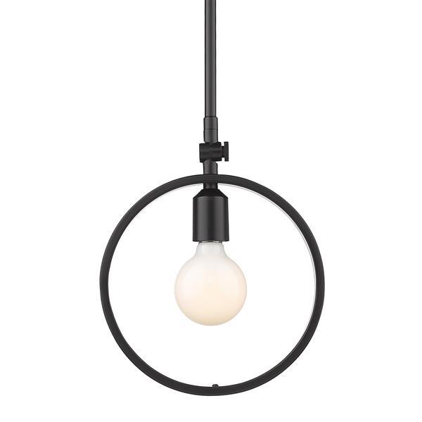 Golden Lighting Sloane Mini Pendant Light - Black