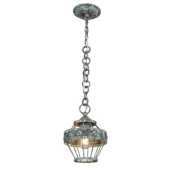 Golden Lighting Ferris Mini Pendant Light - Blue