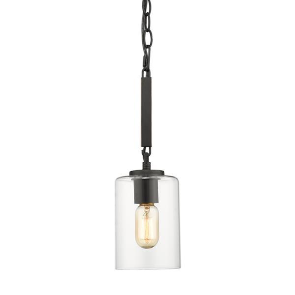 Golden Lighting Monroe Mini Pendant Light - Black