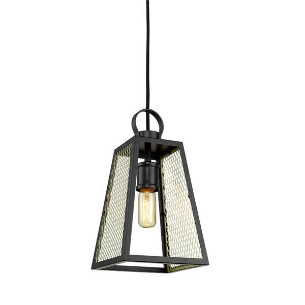 Golden Lighting Abbott Medium Pendant Light - Black