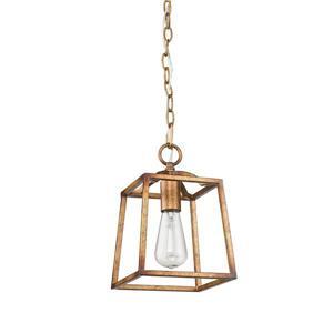 Athena Mini Pendant Light - Grecian Gold