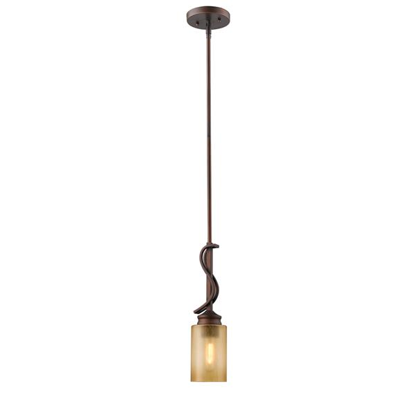 Golden Lighting Hidalgo Mini Pendant Light - Bronze