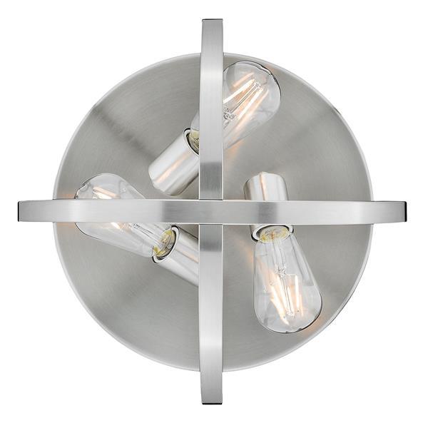 Golden Lighting Colson Flush Mount Light - Pewter