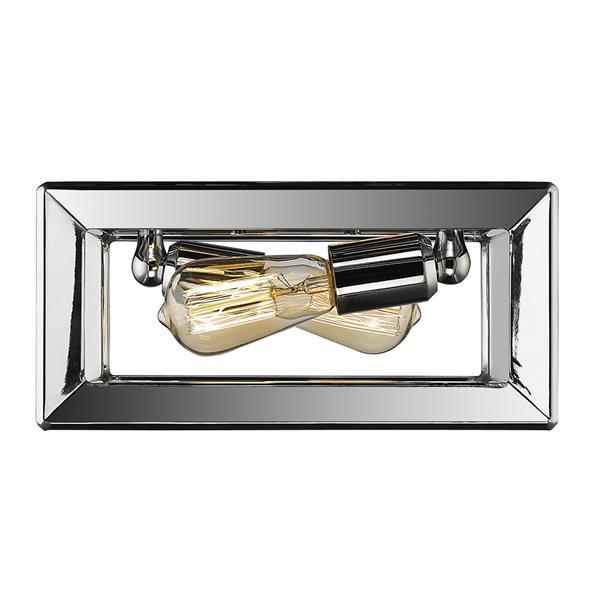 Golden Lighting Smyth Flush Mount Light - Chrome