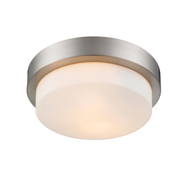 Golden Lighting Flush Mount Light - Pewter