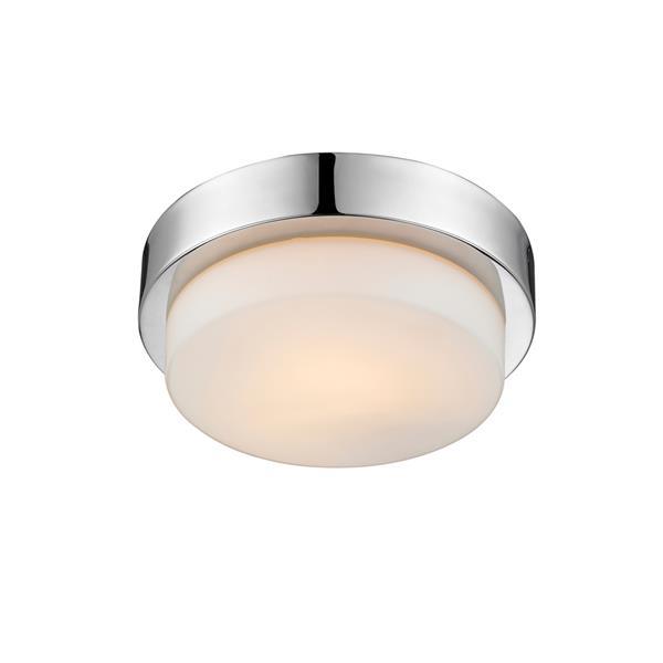 Golden Lighting Flush Mount Light - Chrome