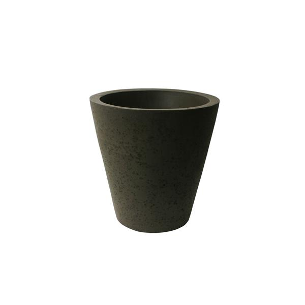 """Algreen Products Crete Self-Watering Planter - 20.5"""" x 20"""" - Brown"""