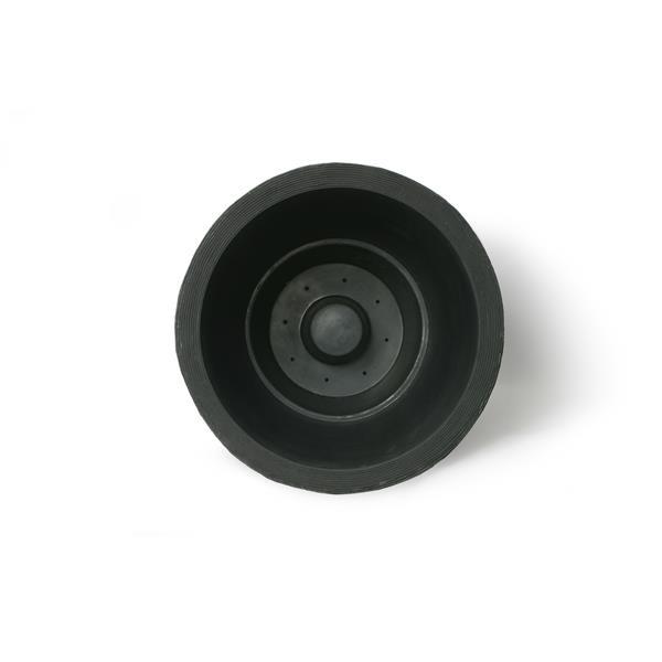 """Jardinière à arrosage automatique Olympus, 20,5"""" x 20"""", noir"""