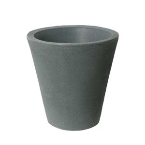 "Algreen Products Olympus Self-Watering Planter - 14.5"" x 14"" - Charcoal"