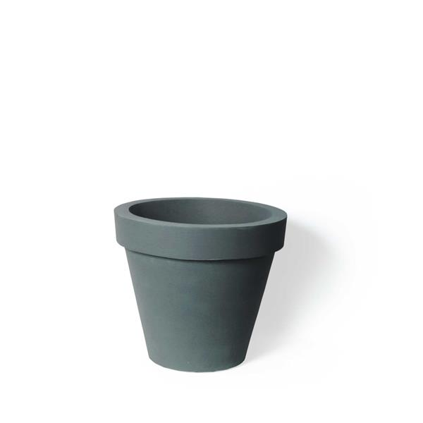 """Algreen Products Classico Self-Watering Planter - 16"""" x 14"""" - Charcoal"""