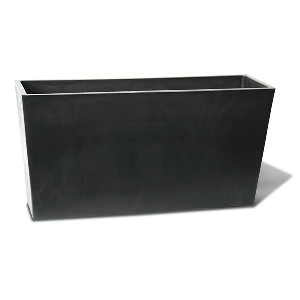 "Algreen Products Valencia Patio Planter - 31"" x 15.6"" - Black"
