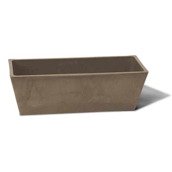 "Algreen Products Valencia Windowsill Planter - 20"" x 6.5"" - Taupe"