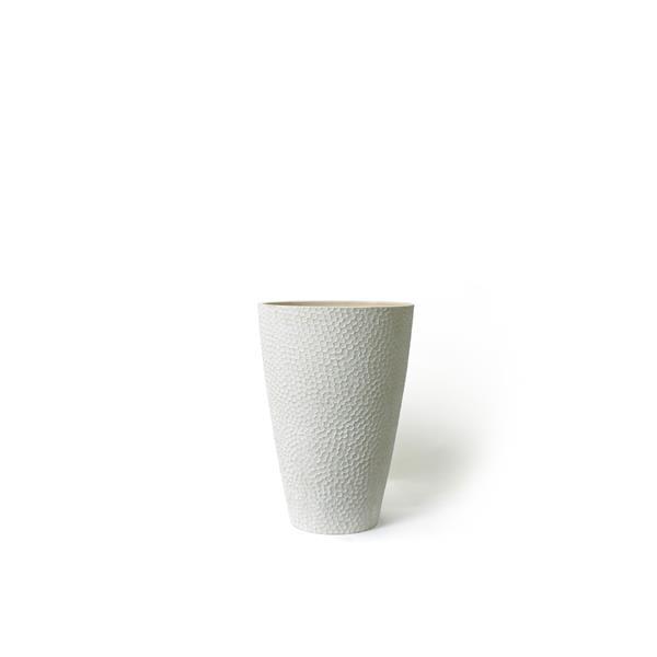 """Algreen Products Valencia Planter - 15"""" x 20"""" - Composite - White"""