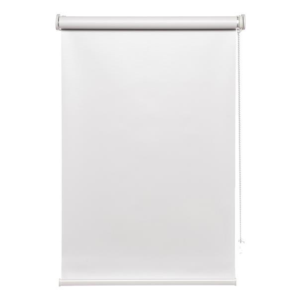 """Toile à rouleau opaque avec chaînette Avanat, 27""""x70"""", blanc"""