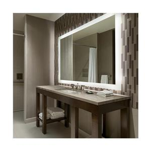GEF Bathroom Mirror Image LED Frosted Edge - 36-in x 24-in
