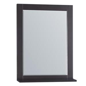 GEF Willow  miroir de salle de bain, 27.5 po. gris