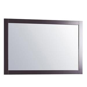 GEF Willow  miroir de salle de bain, 31.5 po. gris