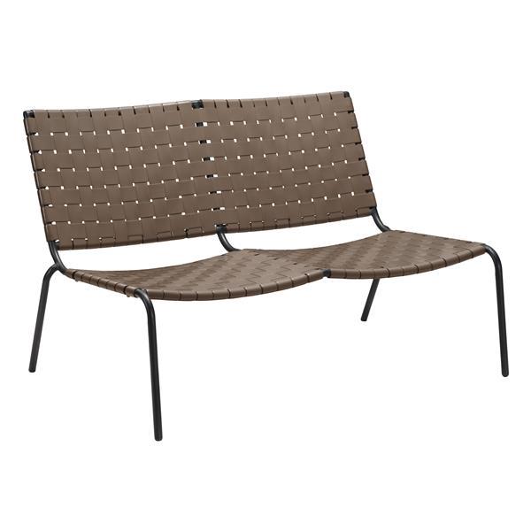 Zuo Modern Beckett Outdoor Chair - 49.8-in - Espresso