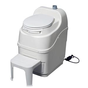 Portable Toilet Spacesaver - Fibreglass - White