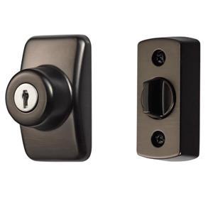 Unité de verrouillage à clé Ideal Security, bronze huilé