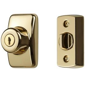 Ideal Security Keyed Deadbolt - Brass