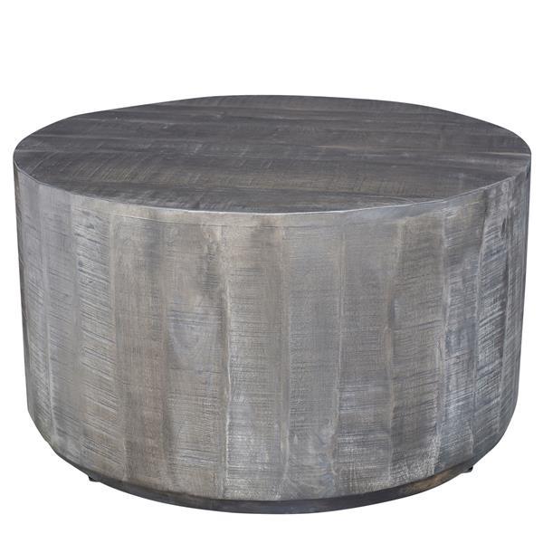 """Table à café, 32,75"""" x 17,75"""", bois, gris"""