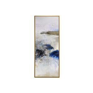 Stella.B Decor POLO2 Framed Canvas with Gold Frame - 16-in x 40-in