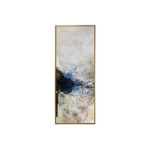 Stella.B Decor POLO 1 Framed Canvas with Gold Frame - 16-in x 40-in