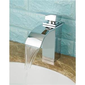 Robinet de salle de bain Waterfall, chrome