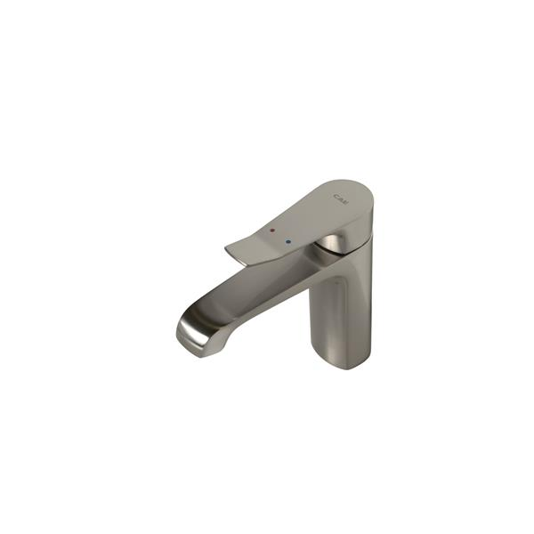 Sera Bathroom Vanity Faucet Pescara, Brushed Nickel