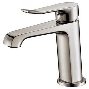 Sera Bathroom Vanity Faucet Pescara, Brushed Nickel