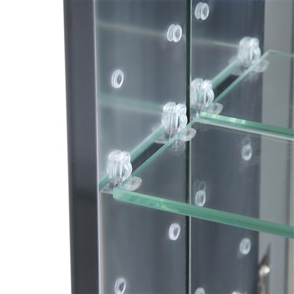 GEF Rosalie Vanity Set with Medicine Cabinet, 60-in White