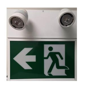 SmartRay LED Running Man Combo Sign - Green/White