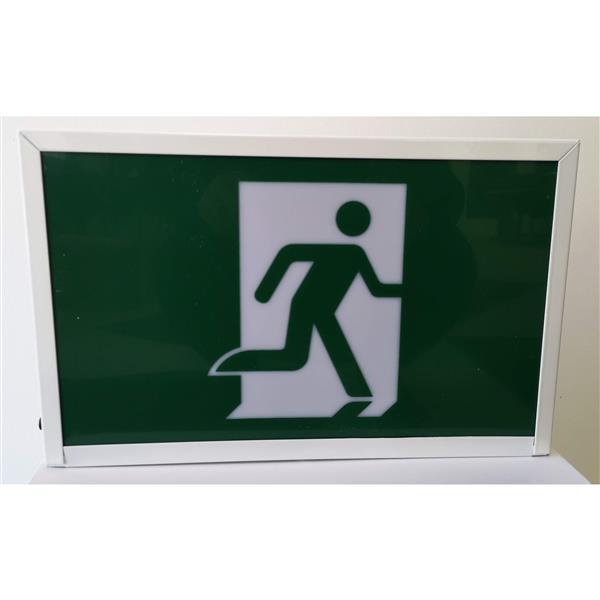 SmartRay LED Running Man Sign - Green/White
