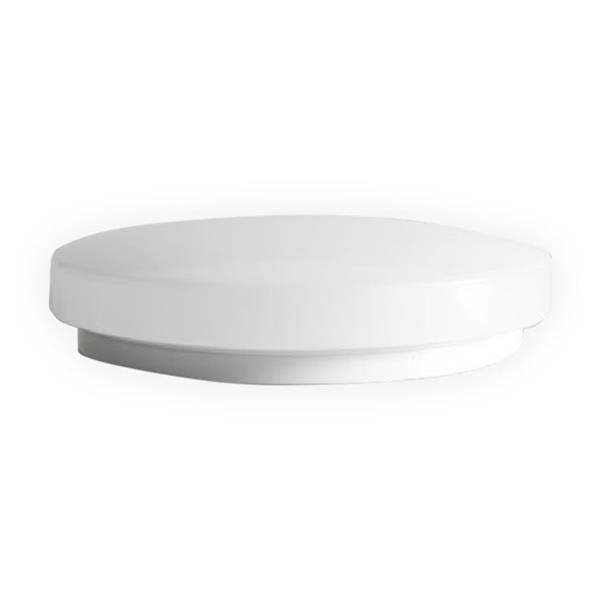 SmartRay LED Flush Mount Light - 14-in - White