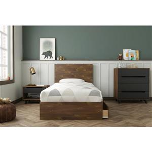 Ensemble chambre à coucher simple «Oscuro», 4 mcx, truffe