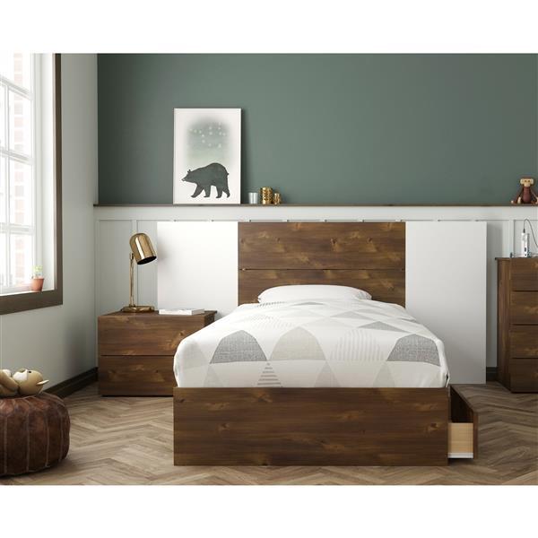 Ensemble chambre à coucher simple «Rubicon», 4 mcx, truffe