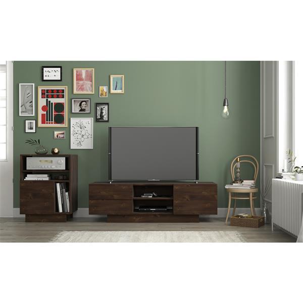 Nexera Morello TV Stand - 60-in  - Truffle