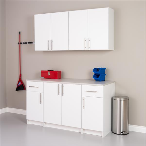 Prepac Elite Wall Cabinet 2 Door White 32 In W X 30 In H X 12 In D Wew 3230 Rona