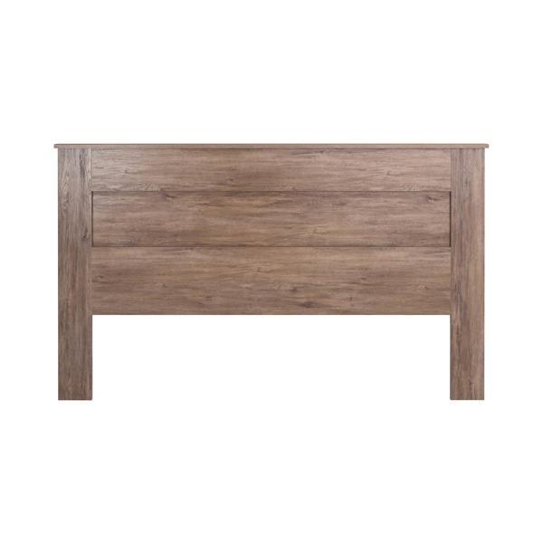 Prepac King Flat Panel Headboard - Drifted Gray