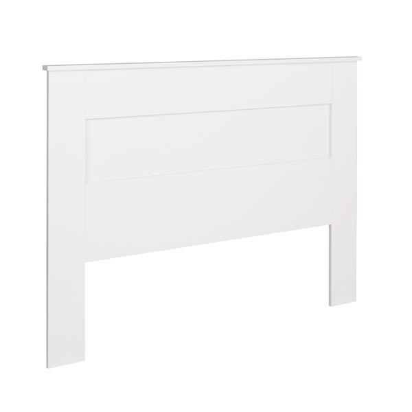 Prepac Queen Flat Panel Headboard - White